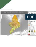 Peta Penduduk Kabupaten Kudus