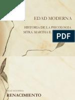 Renacimiento y Edad Moderna