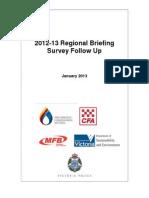 microsoft word - 2012-13 regional briefing survey follow up  jan 13