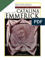Tomo 14 - Reconocimiento de las reliquias - Beata Ana Catalina Emmerick - Visiones y Revelaciones