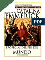 Tomo 15 - Profecías del fin del mundo - Beata Ana Catalina Emmerick - Visiones y Revelaciones