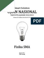 Smart Solution Un Fisika Sma 2013 (Skl 2 Indikator 2.2 Hukum Newton) (Edisi Revisi)