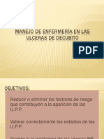 MANEJO DE ENFERMERIA A ULCERAS