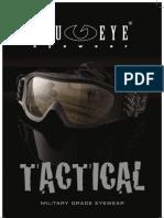 Blueye Military Goggles
