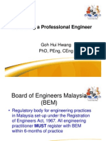 Becoming a Professional Engineer (Foon Yew)
