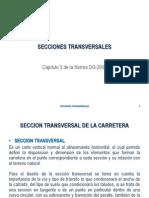 DGV TEO 13 Seccion Transversal