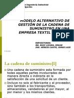 Gestion de la Cadena de Suministro en una Empresa textil Peruana