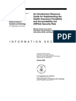 NIST SP 800-66 HIPAA Guide
