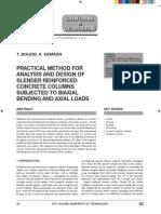 Practical Analysis 4 Biaxil Column