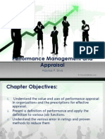 Performance Management and Appraisal.