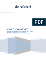 Plan de afaceri prezident