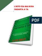 Cum Sa Devii Cea Mai Buna Varianta a Ta Free PDF