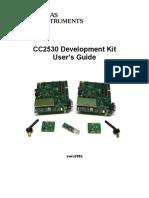 cc2530 development kit user guide