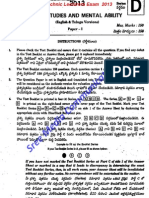 APPSC Polytechnic Lecturers exam GS Solved Paper