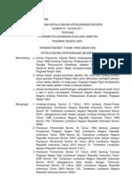 Perka BKN 21 Tahun 2011 Ttg Pedoman Pelaksanaan Evaluasi Jabatan PNS