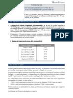 Loi de Finances pour 2013 et loi de Finances Rectificatives pour 2012 adoptées