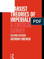 Anthony Brewer - Marxist Theories of Imperialism