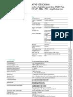 Datasheet ATV61ES5C63N4