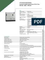 Datasheet ATV61EXS5C63N4