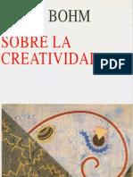 Libro Bohm David-sobrelacreatividad