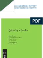 quick clay in sweden