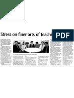 Finer Arts of Teaching (TLC@KDU)