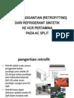 teknik pengantian hcr