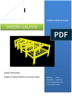 Diseño de Galpon
