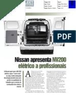 """NISSAN e-NV200 NA """"FLEET MAGAZINE»"""