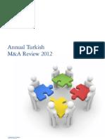 Deloitte Türkiye 2012 Yatırım ve Satın Alma Raporu