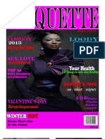 STYLES ETIQUETTE MAGAZINE JAN - MAR 2013 ISSUE 1