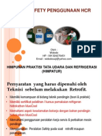 Materi-6 Aspek Safety Penggunaan HCR