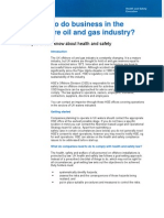 Business in UK Offshore Oil and Gas