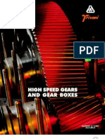gearbox high speed