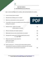 12 Chemistry Chemical Kinetics Test 02