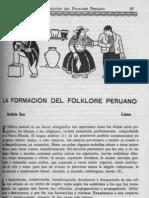 La Formación de Folklore Peruano