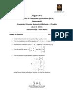 BC0043 - Computer Oriented Numerical Methods