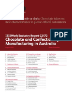 Chocolate and Confectionery Manufacturing in Australia Industry Report