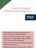 epidemiologi sistem muskuloskeletal