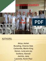 MDD Case Presentation