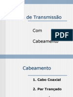 MEIOS DE TRANSMIÇÃO