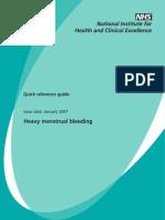 Heavy menstrual bleeding nice guidelines.pdf