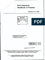Faa Statistical HB of Aviation