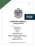lab manual ec