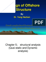 Design of offshore structures