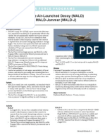 Miniature Air-Launched Decoy (MALD) and MALD‑Jammer (MALD-J)