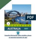 Información sobre pregrados, postgrados y cursos en Australia.