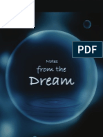 Notes From the dream
