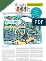 lebenszeit - Zeitung für Diskurs & Ethik am Lebensende - Ausgabe #5 - Vorsorge
