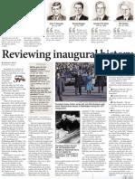 Reviewing inaugural history